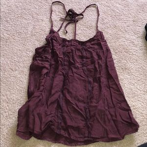 Free people too burgundy size m
